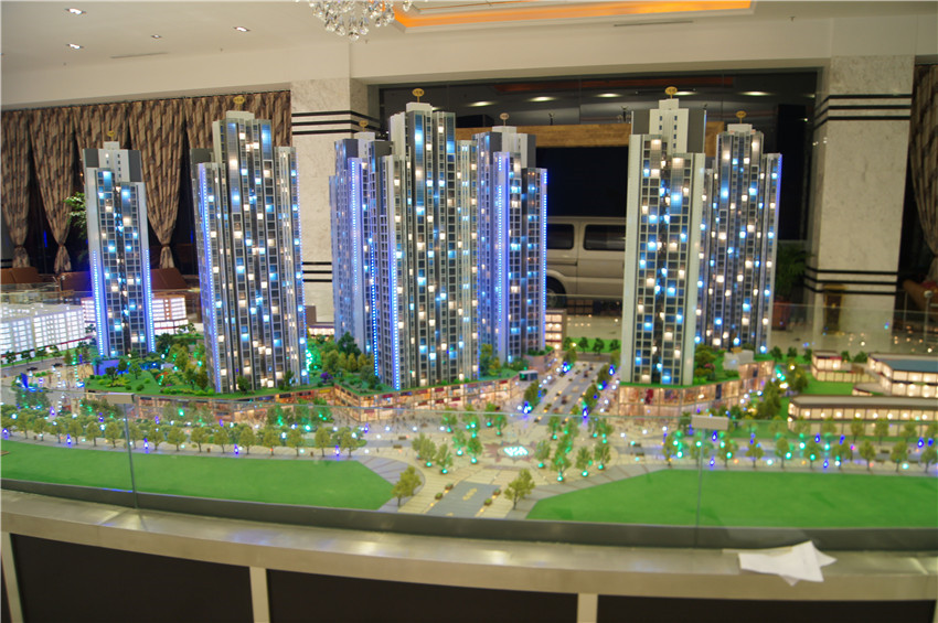 商业建筑模型